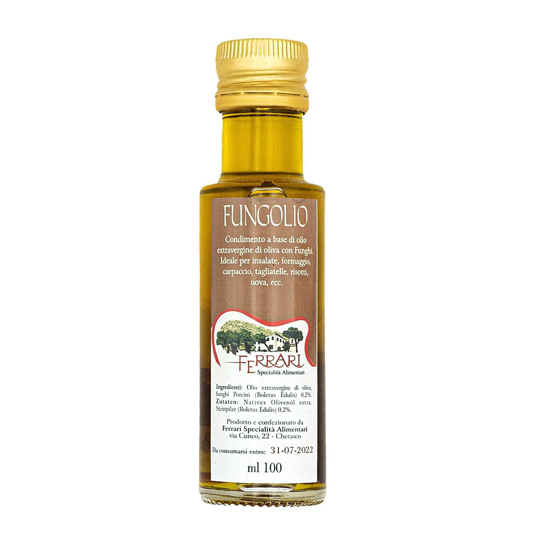 Fungolio - olio extravergine con funghi Porcini - 100 ml