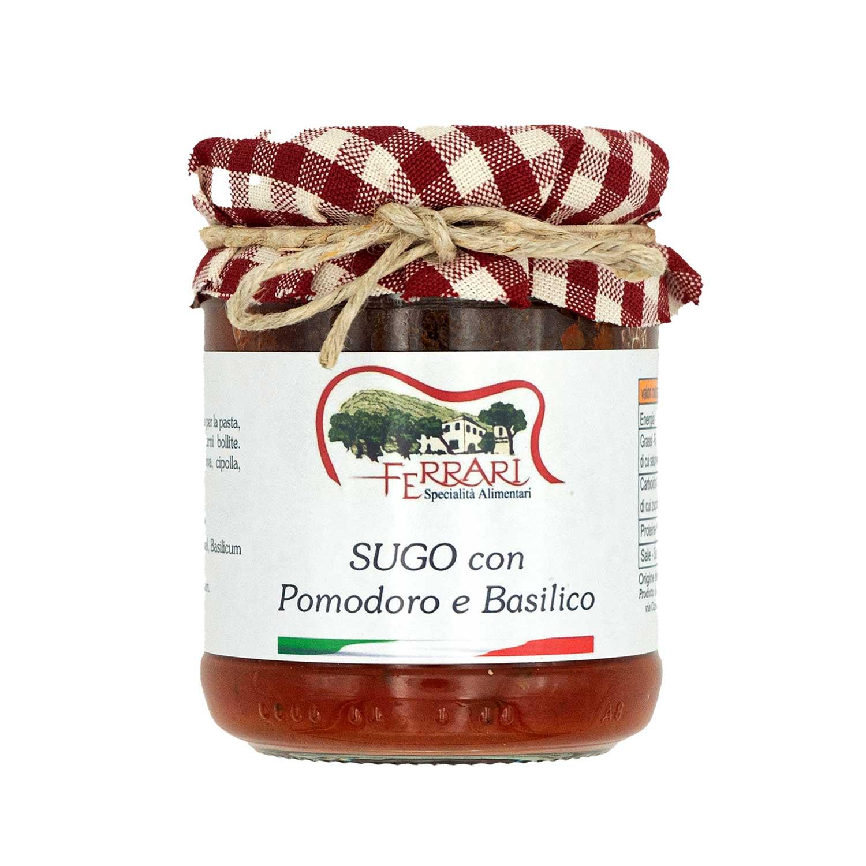 Sugo con Pomodoro e Basilico - 180 g